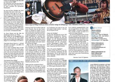 P_11_21.06.2011 Stadtanzeiger Winterthur Bericht Rock & Blues Cruise